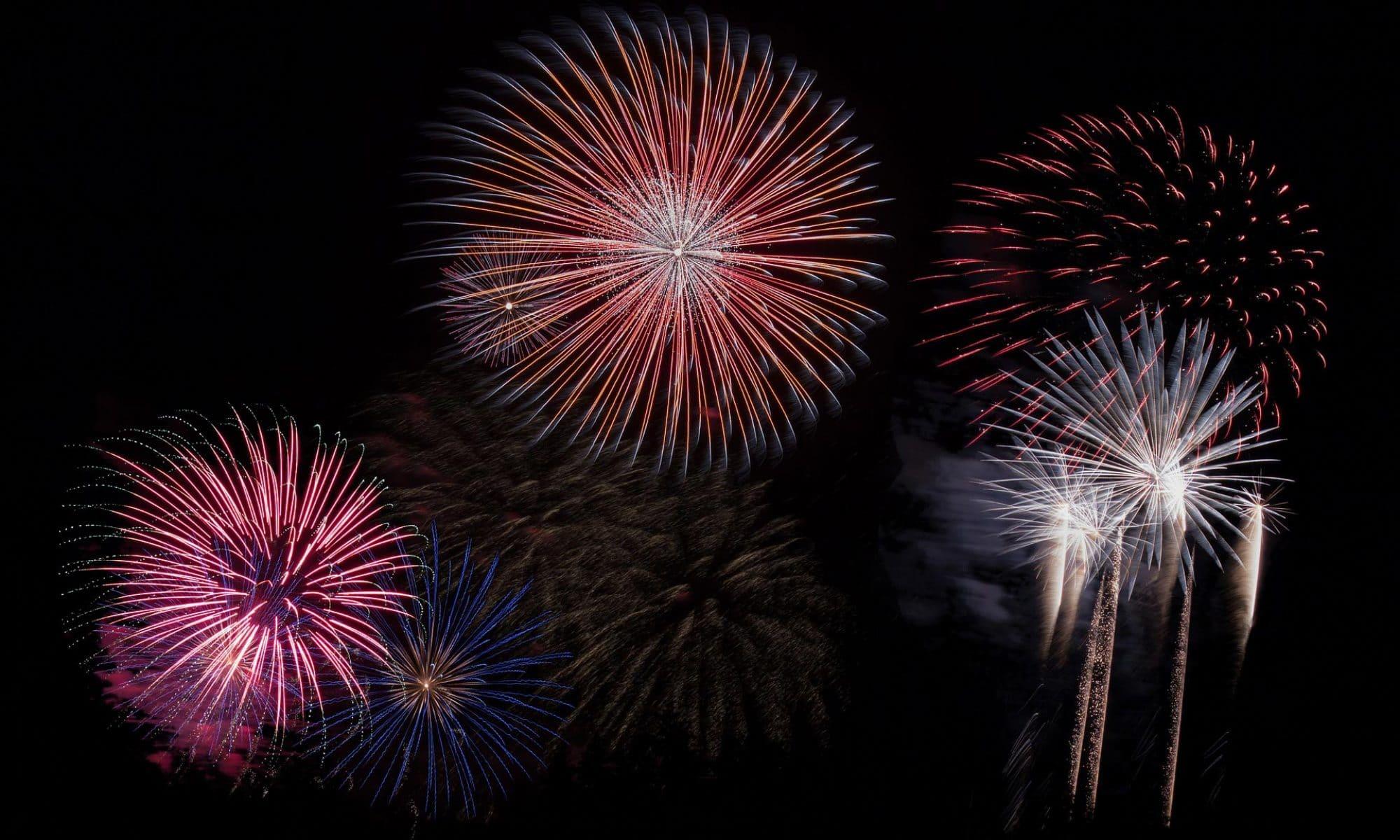 Feuerwerk für Hochzeiten und Veranstaltungen
