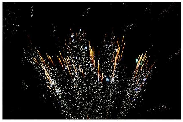 Feuertöpfe Hochzeitsfeuerwerk