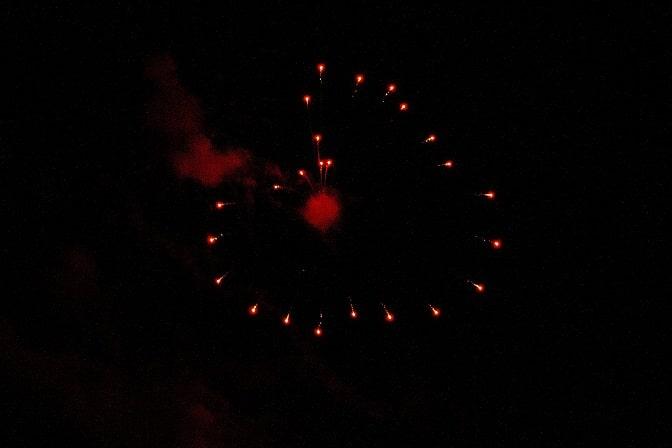 Feuerwerkskörper Herz